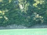 Cuerda sobre el lago