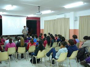 sensibilización Colegio Antonio Gala