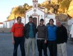 Foto en frente de la iglesia de Nuestra Señora de la Peña