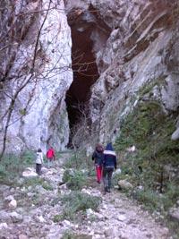 Entrada cueva del Hundidero